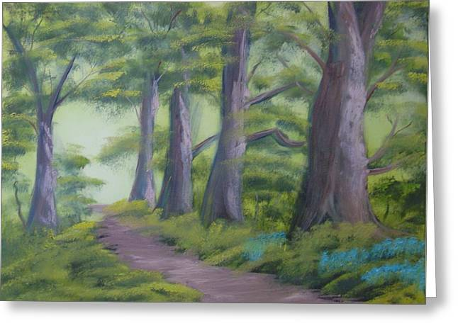 Duff House Path Greeting Card