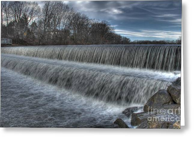 Duke Island Waterfall Greeting Card
