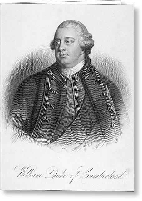 Duke Of Cumberland Greeting Card by Granger