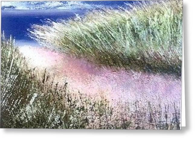 Dune Path Greeting Card by Joseph Gallant