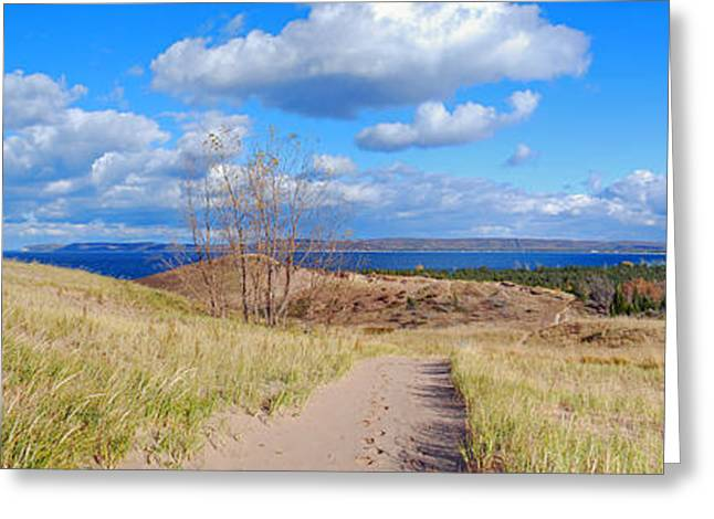 Dune Path To Glen Arbor Greeting Card by Twenty Two North Photography
