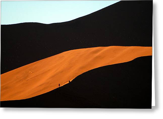 Dune Tunnel Greeting Card