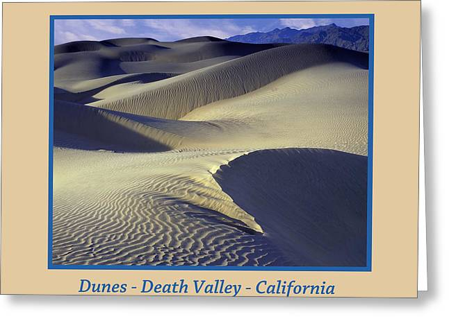 Dunes Poster Greeting Card