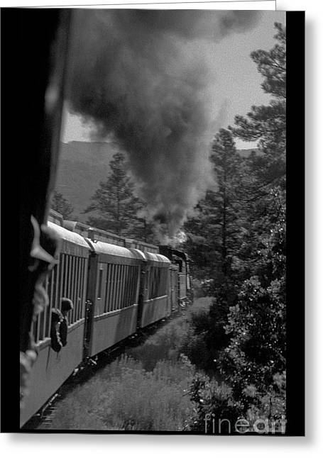 Durango And Silverton Rr Greeting Card