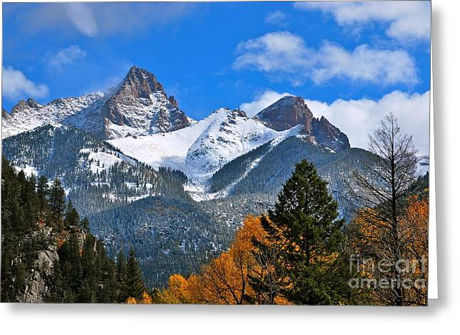 Durango To Silverton  Greeting Card by Johanne Peale