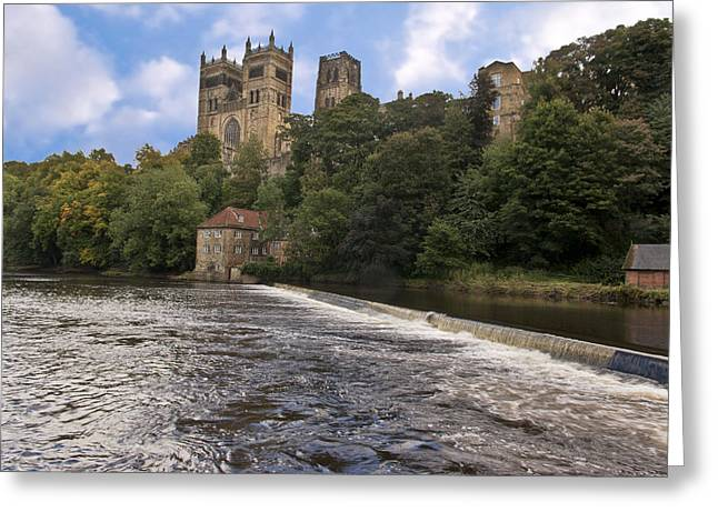 Durham Cathedral Greeting Card by Trevor Kersley