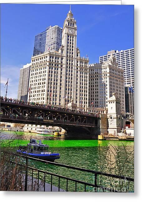 Dusable Bridge Chicago Greeting Card