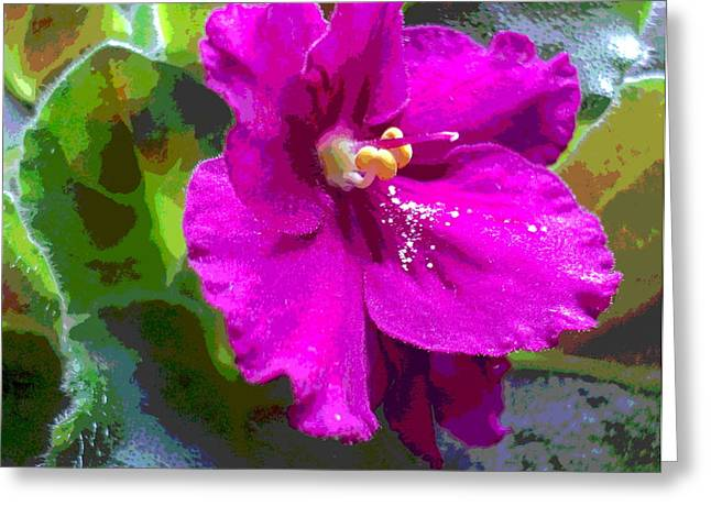 Dusted With Pollen Greeting Card by Padre Art