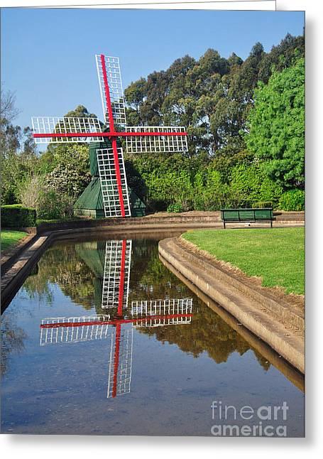 Dutch Garden Greeting Card