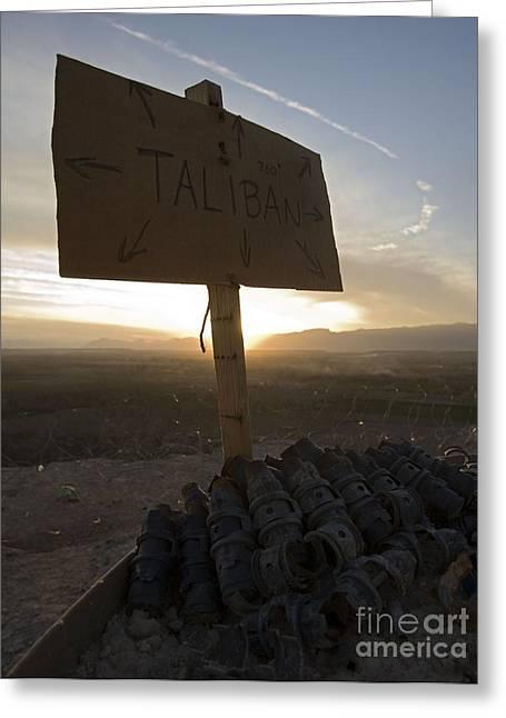 Dutch Island In Taliban Territory Greeting Card