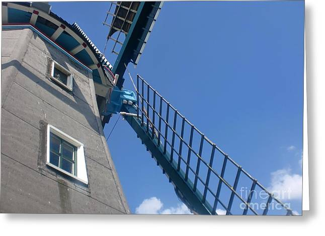 Dutch Windmill Greeting Card by Anastasis  Anastasi