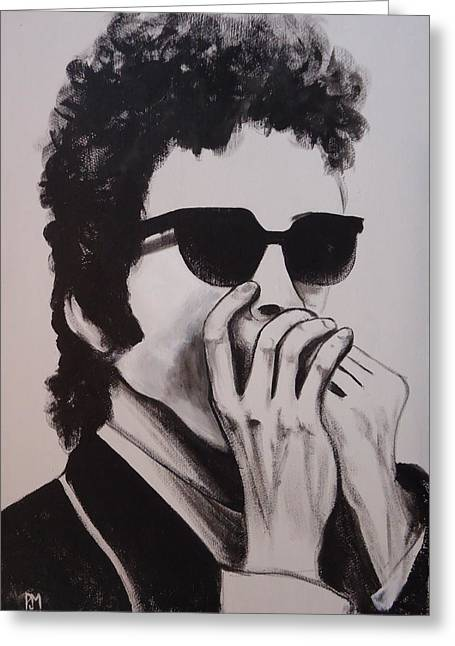 Dylan Greeting Card by Pete Maier