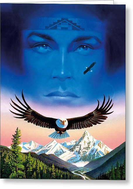 Eagle Mountain Greeting Card