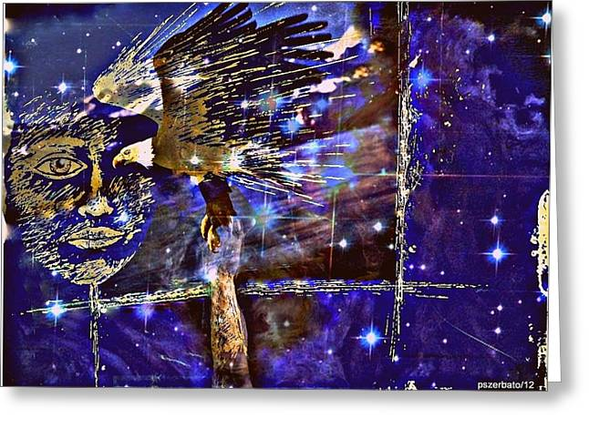 Eagle What Loves Heights And Have Confidence In Your Talon Greeting Card by Paulo Zerbato
