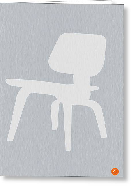 Eames Plywood Chair Greeting Card by Naxart Studio