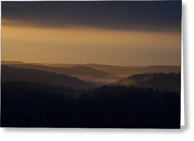 Early Morning Sunrise Greeting Card