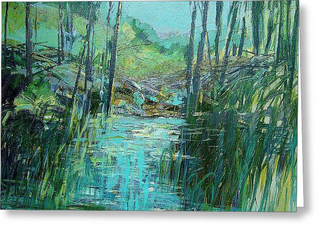 Early Spring II Greeting Card by Dale  Witherow