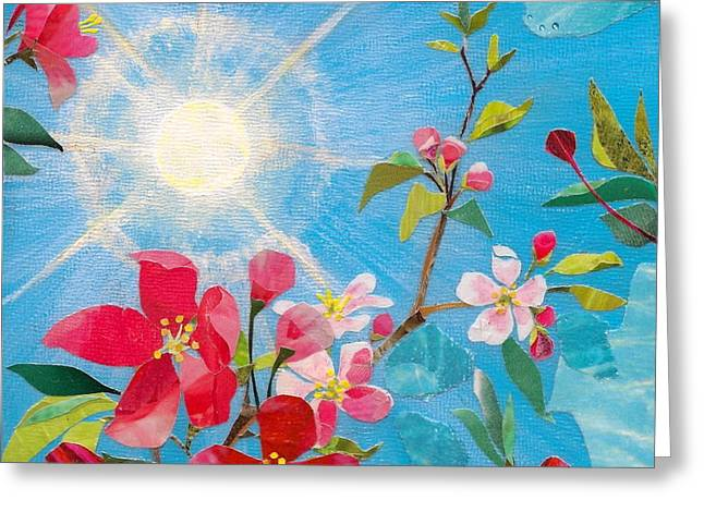 Early Spring Sunshine Greeting Card