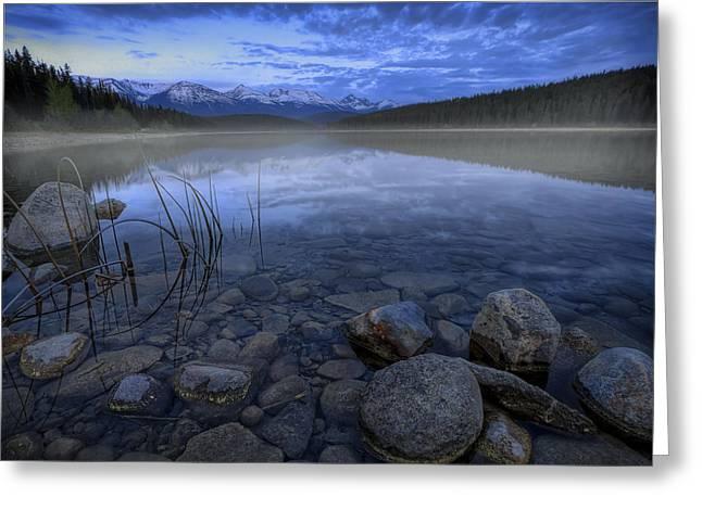 Early Summer Morning On Patricia Lake Greeting Card by Dan Jurak