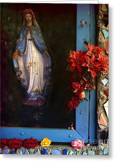 East La Mary Greeting Card by Lawrence Costales