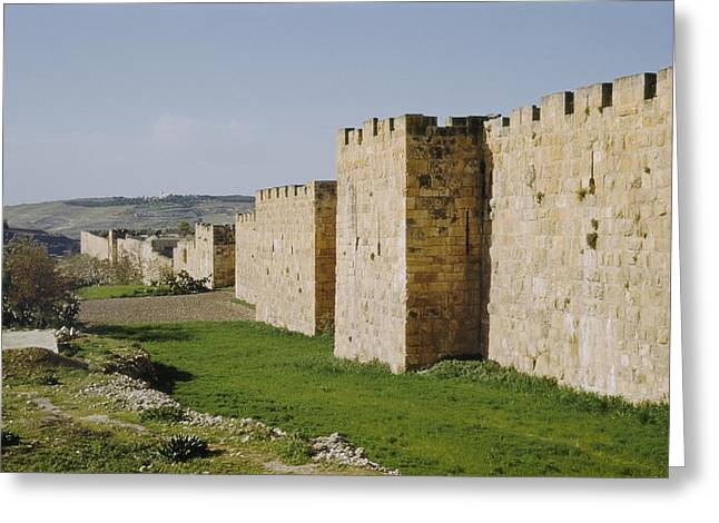 East Wall, Looking South, Near St Greeting Card