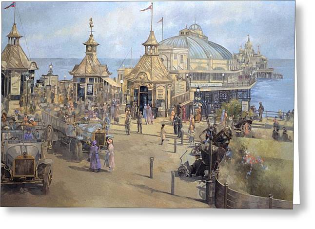 Eastbourne Greeting Card by Peter Miller