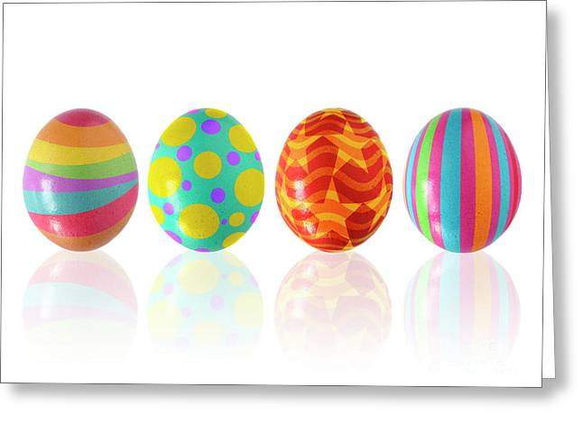 Easter Eggs Greeting Card by Carlos Caetano