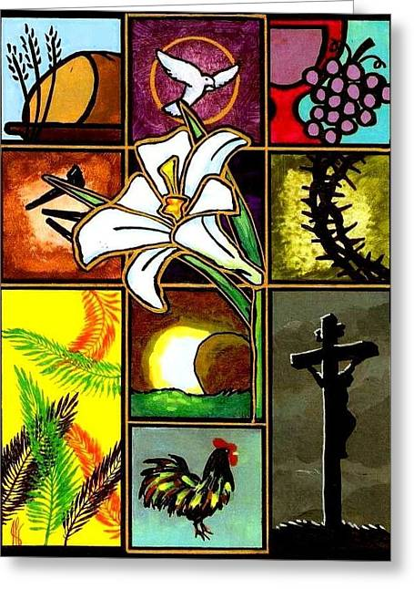 Easter Sunday Greeting Card