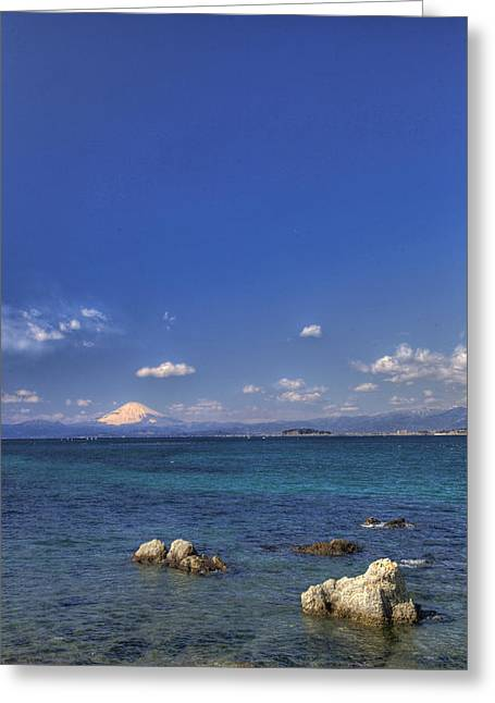Greeting Card featuring the photograph Ebb by Tad Kanazaki