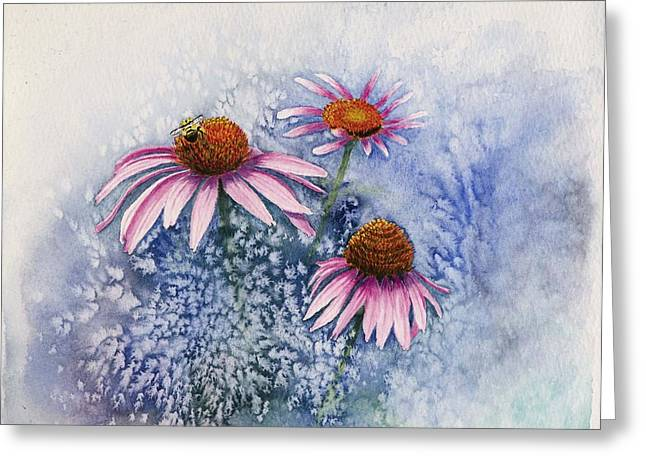 Echinacea Greeting Card