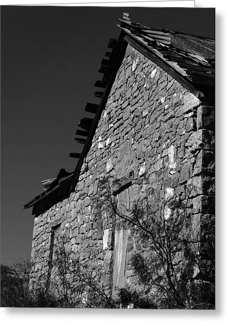 Greeting Card featuring the photograph Echoes Of Another Time by Vicki Pelham