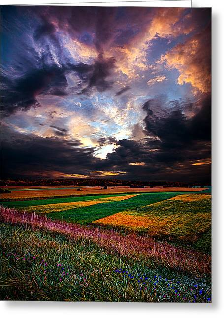 Echos Of Life Greeting Card by Phil Koch
