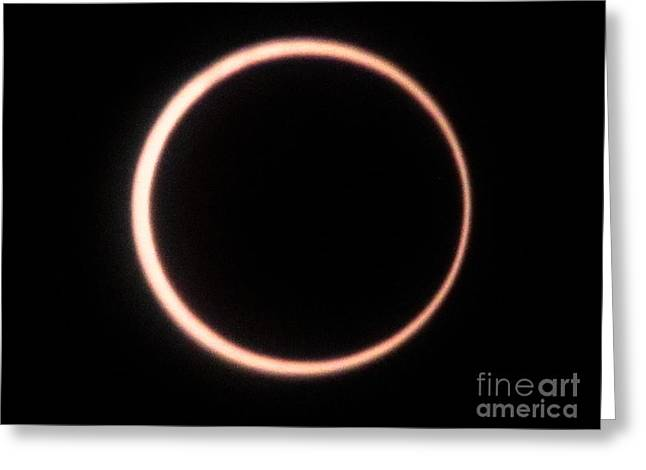 Eclipse 2012 Greeting Card