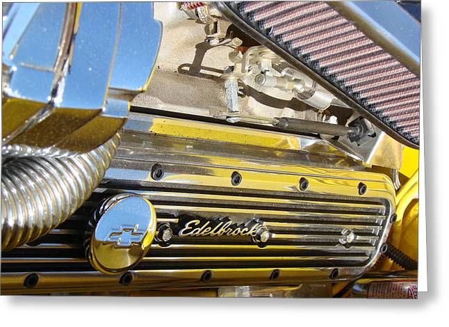 Edelbrock  Greeting Card by Tammy Cantrell