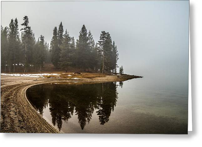 Greeting Card featuring the photograph Edge by Randy Wood