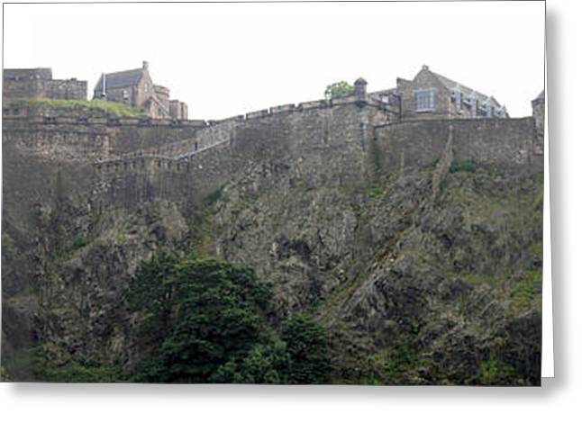 Greeting Card featuring the photograph Edinburgh Castle by David Grant