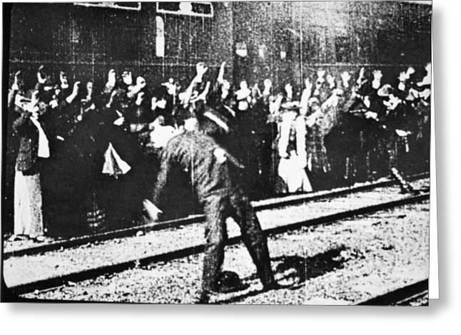 Edison: Movie Still, 1903 Greeting Card by Granger