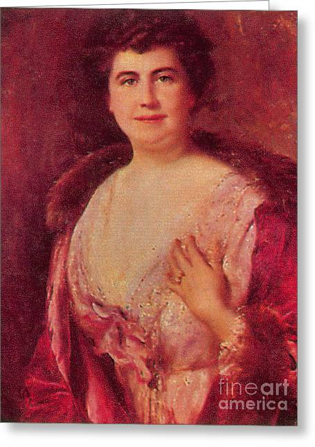 Edith Wilson Greeting Card by Photo Researchers