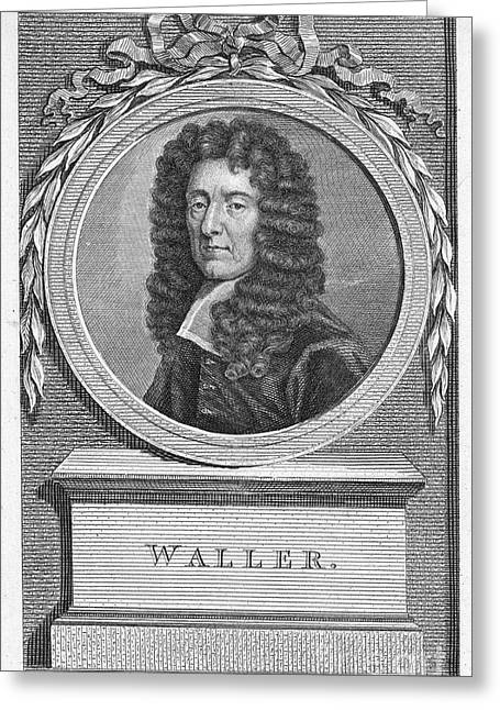 Edmund Waller (1606-1687) Greeting Card by Granger