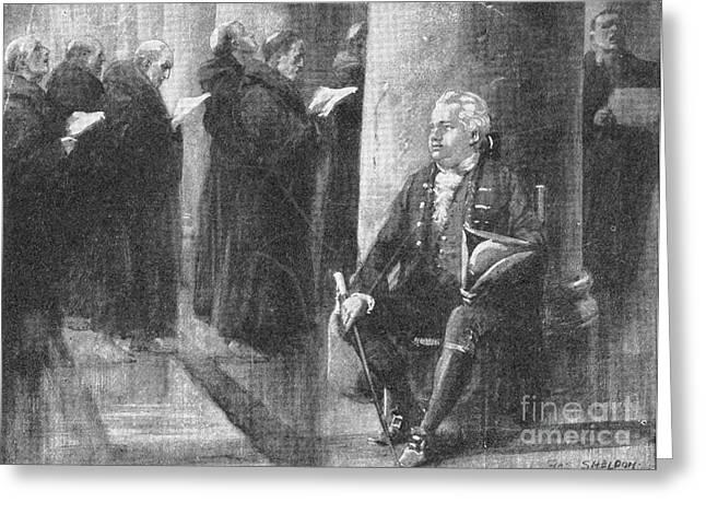 Edward Gibbon, English Historian Greeting Card by Photo Researchers
