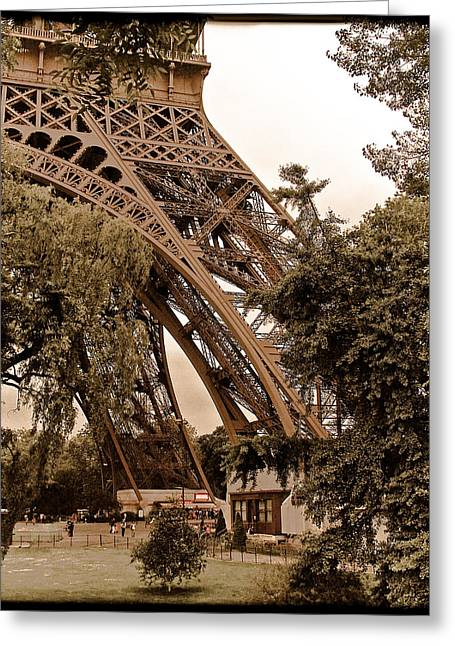 Paris, France - Eiffel Greeting Card