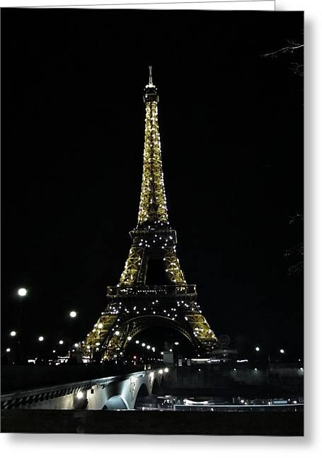 Eiffel Tower - Paris Greeting Card