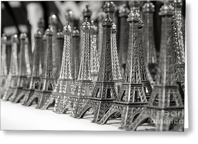 Eiffel Tower Miniature Greeting Card