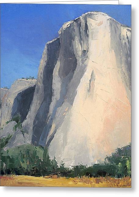 El Capitan Greeting Card by Jennifer Kane