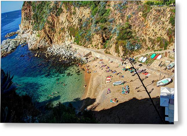 El Codolar Beach  Greeting Card by Iain McGuire