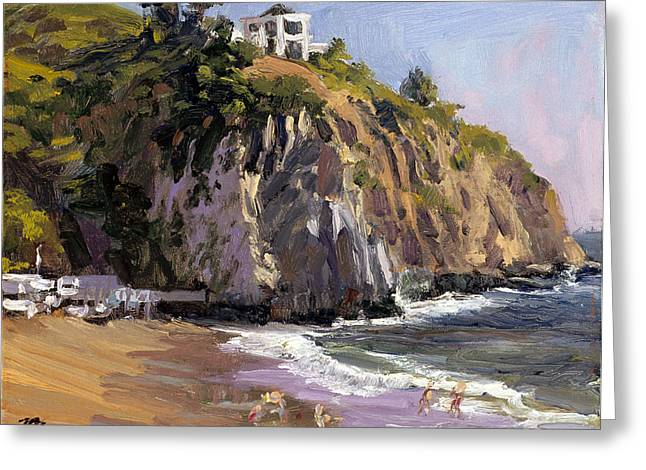 El Moro-2 Greeting Card by Mark Lunde