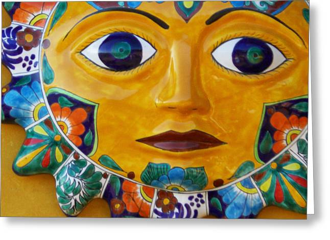 El Sol Greeting Card