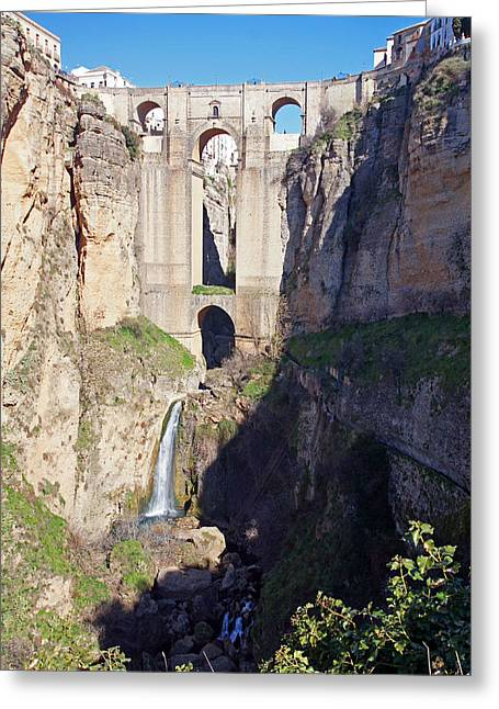 El Tajo Gorge Greeting Card