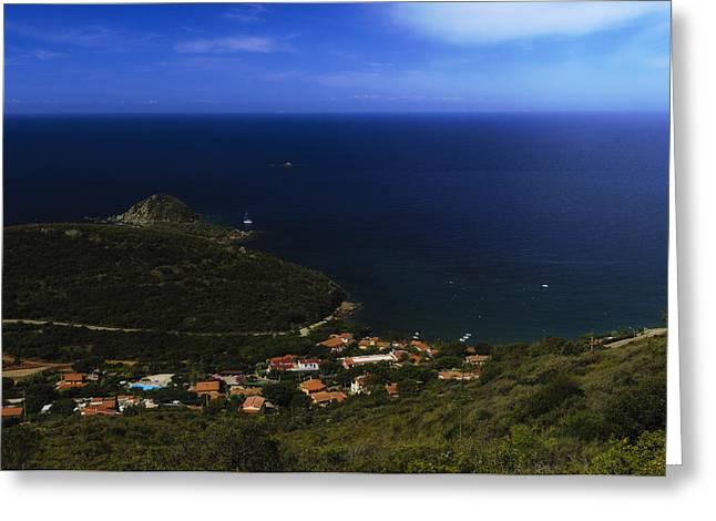 Elba Island - Lovers Beach Dreamscape - Ph Enrico Pelos Greeting Card