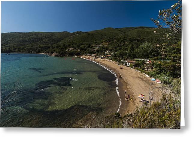 Elba Island - On The Beach 2 - Ph Enrico Pelos Greeting Card